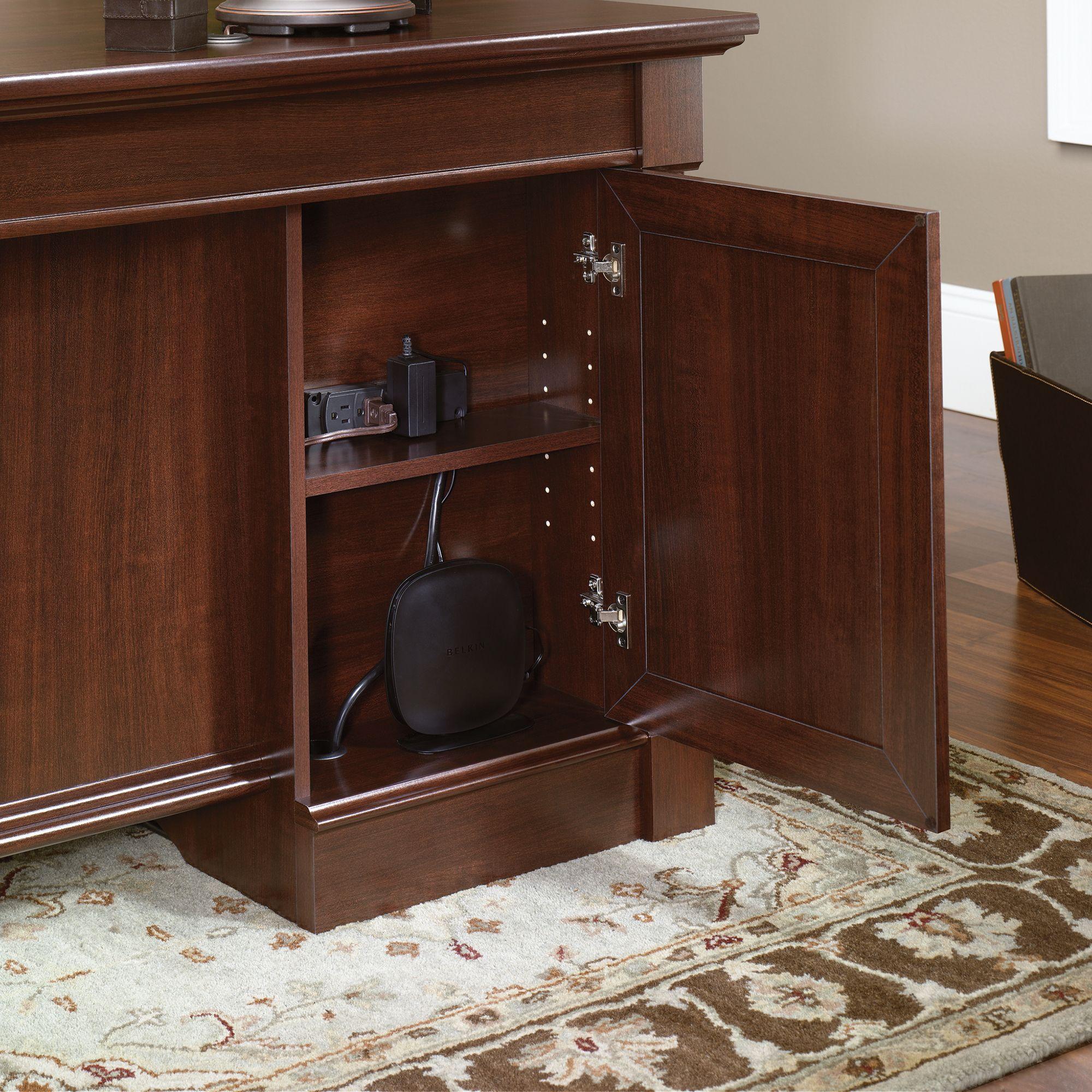 99+ Palladia Executive Desk ashley Furniture Home Office