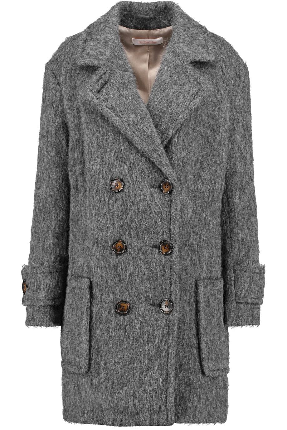 6c35dc596bb9e SEE BY CHLOÉ Faux shearling coat. #seebychloé #cloth #coat | See By ...