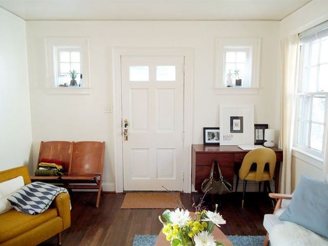 9 Tiny Entryways With Seriously Big Organization Ideas Renters Decorating Home Home Decor #small #living #room #with #front #door #entry