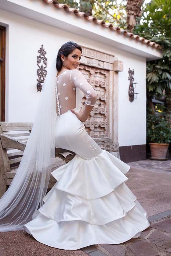 coleccion novia silvia navarro | vetido de novia en 2019 | pinterest