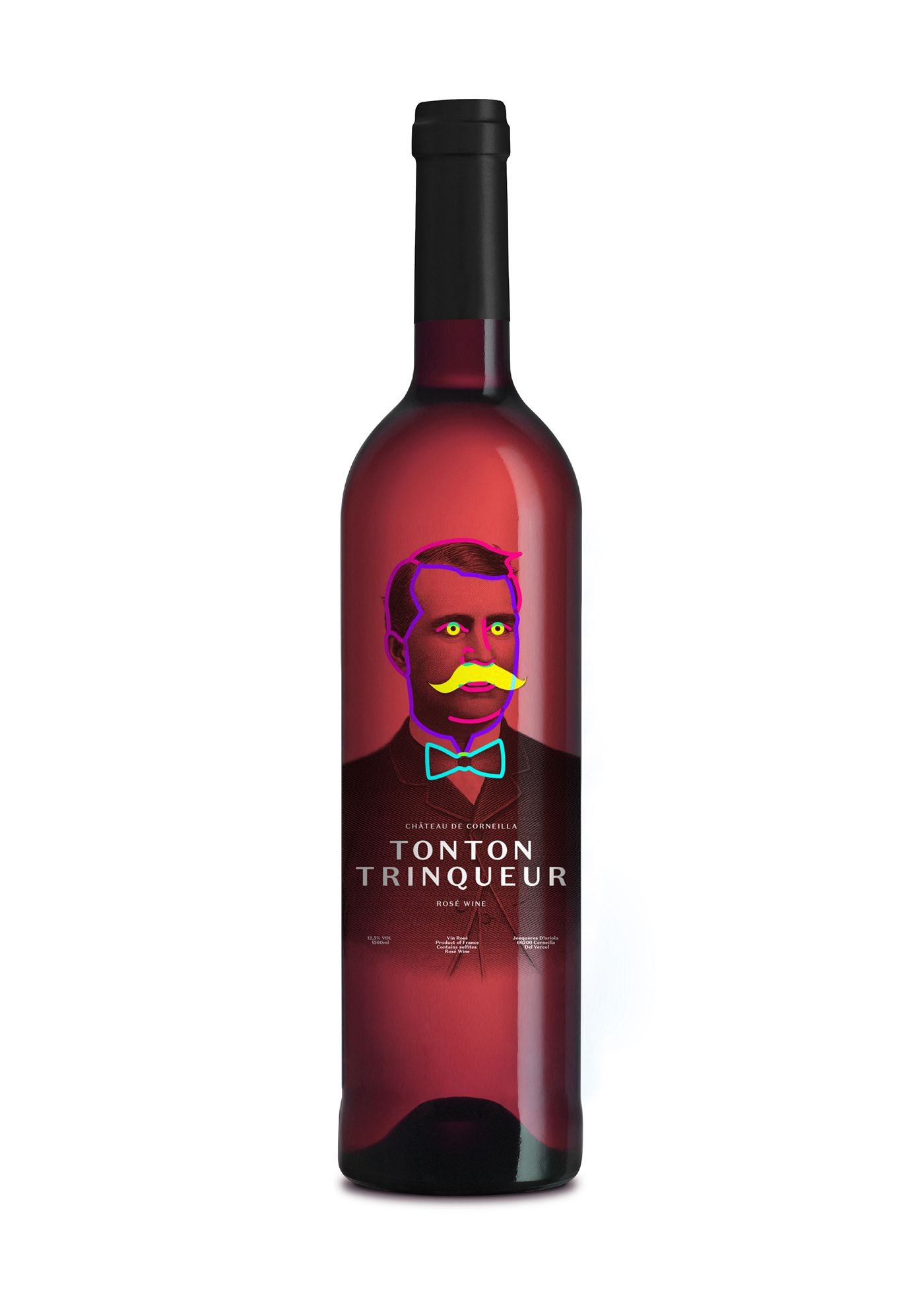Proposal For Tonton Trinqueur A French Rose Wine The Brief Described The Wine As A Product Aimed At Younger Generations A Rose Wine Best Rose Wine Pinot Wine