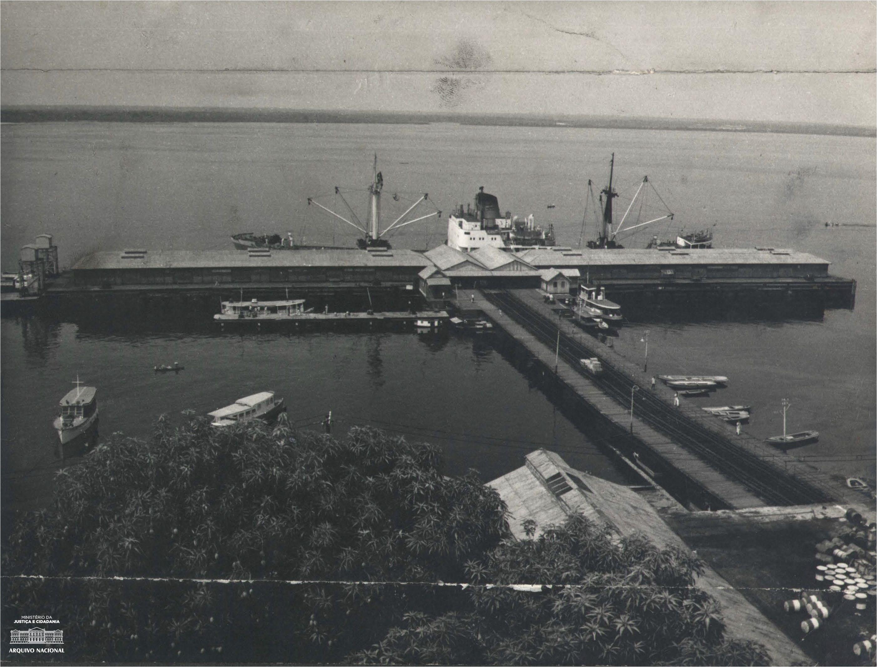 Porto De Manaus 1969 Arquivo Nacional Fundo Correio Da Manha