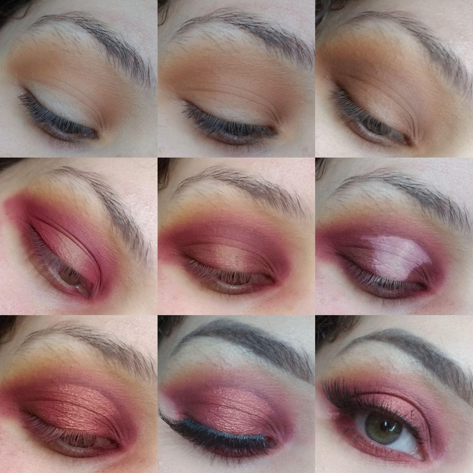 Smokey Halo Valentine's Day Makeup Day makeup