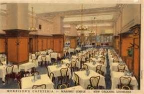 Morrison S Cafeteria New Orleans New Orleans History Cafeteria Vintage Crescent City