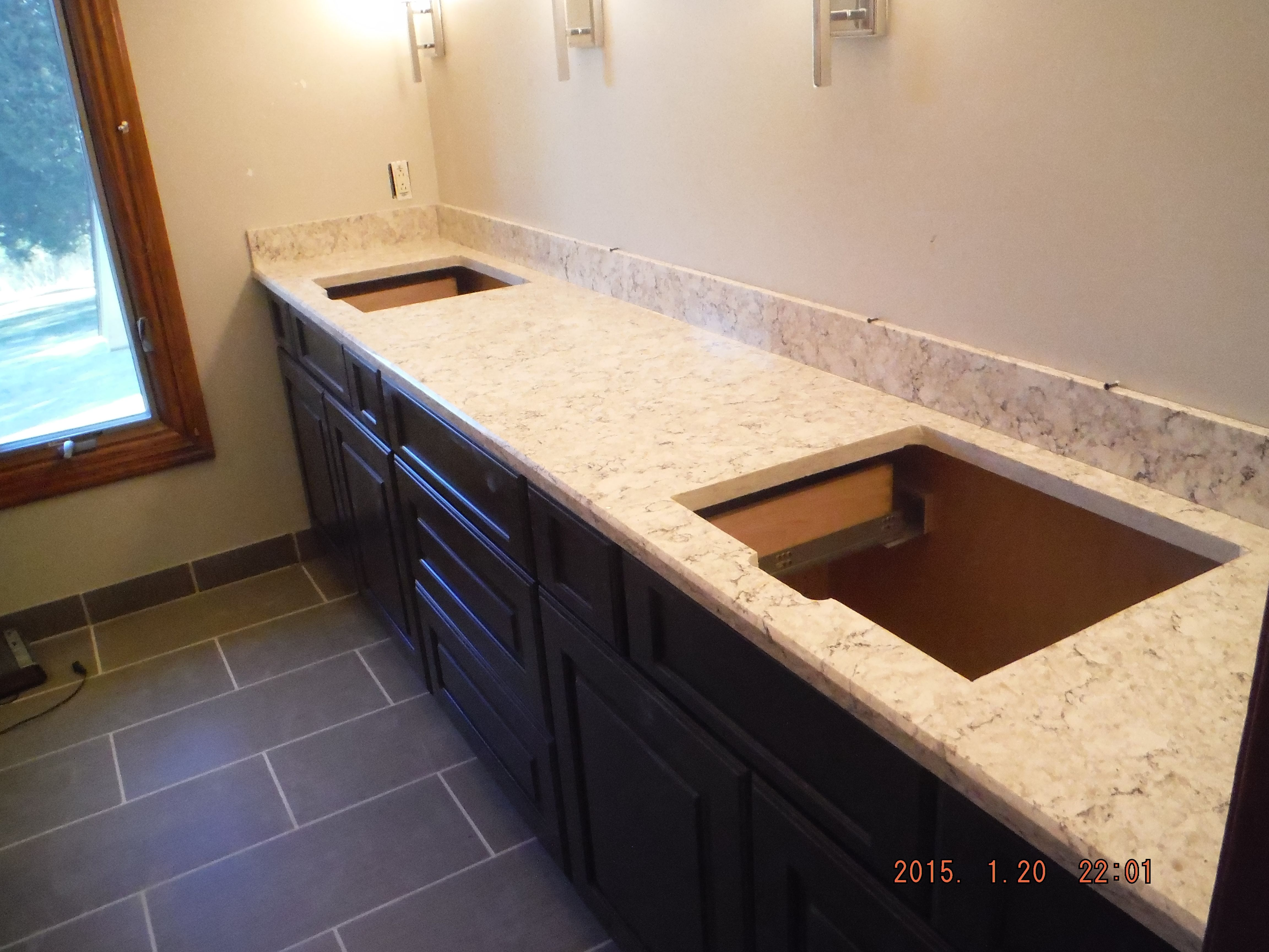 How Much Are Quartz Countertops Installed Lg Viatera Aria Quartz Kitchen Install For The Foster