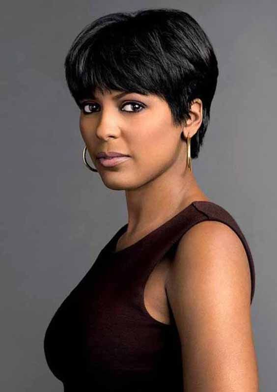10 Black Short Hairstyles For Thick Hair Best Short Thick Hair
