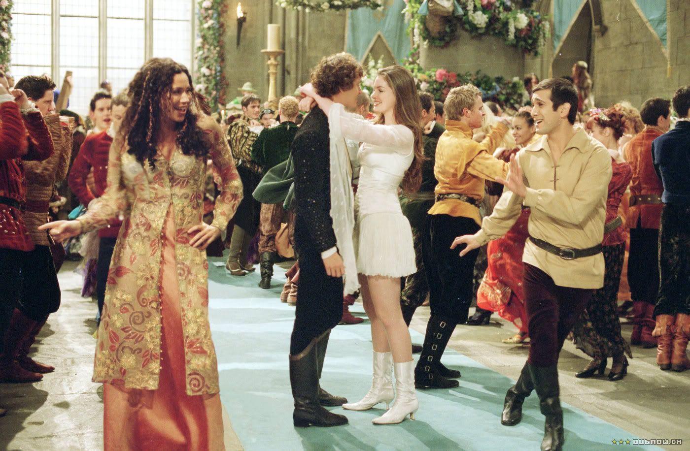 Ella Enchanted (2004) with Anne Hathaway as Ella and Hugh Dancy as ...