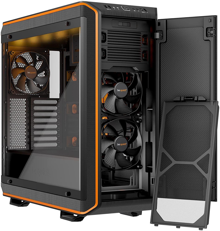 Be Quiet Dark Base Pro 900 Rev 2 Full Tower Nero Arancione Nel 2020 Arancione Design Colori