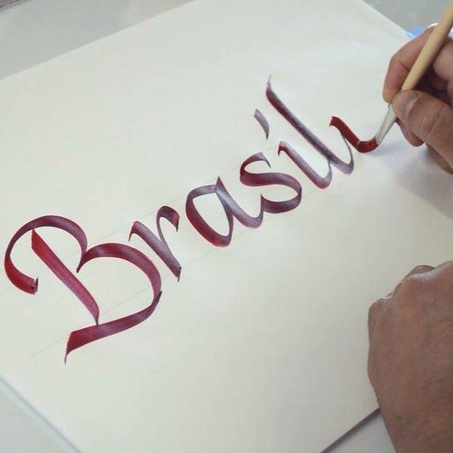 Inscricoes Abertas Para Os Workshops De Caligrafia E Lettering Flat Pen Letters