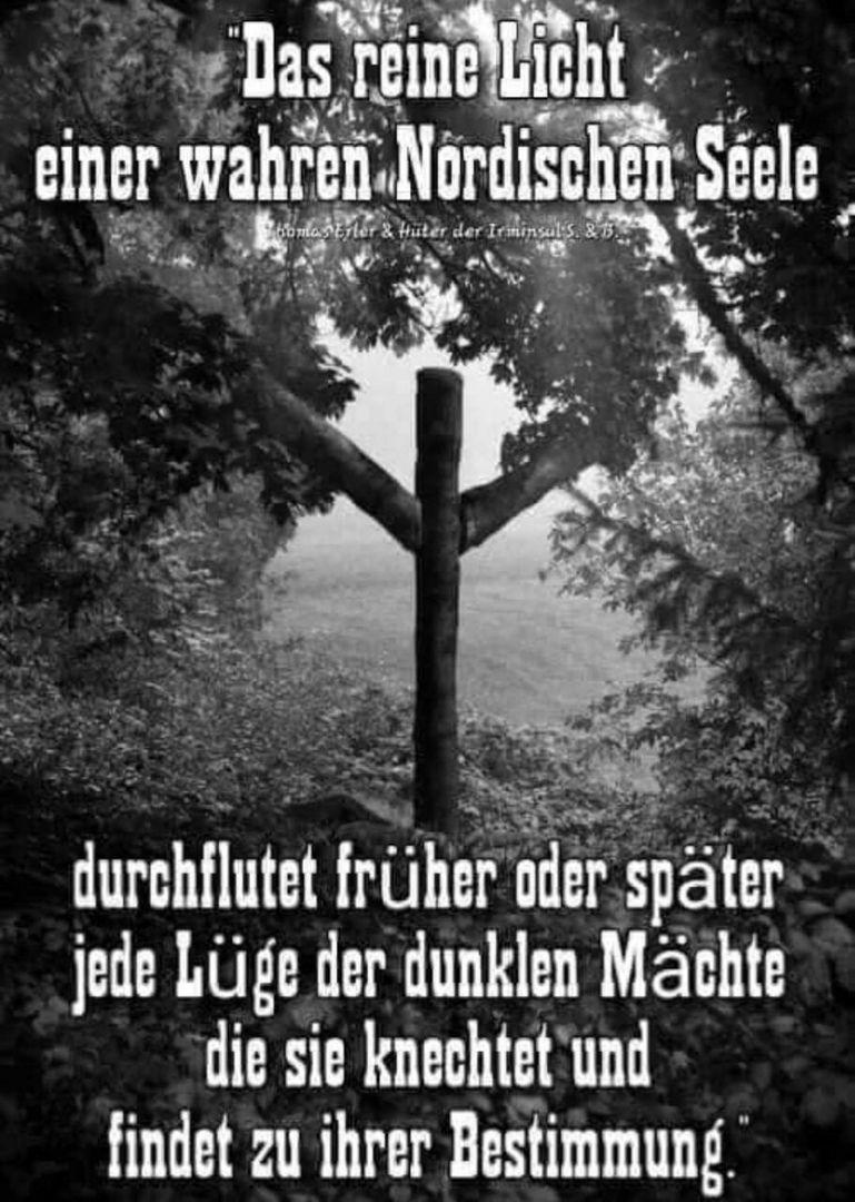 Pin Von Odin S Light Auf Nordic Roots Wikinger Zitate Tiefsinnige Spruche Nordische Runen