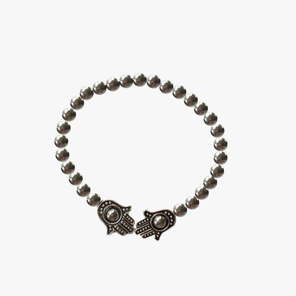 Bracelet Silver Plated Hamsa