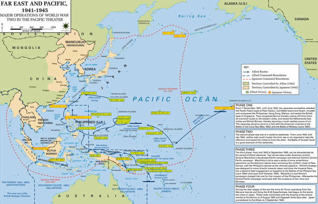 Major operations of world war two in the pacific theater history major operations of world war two in the pacific theater publicscrutiny Image collections