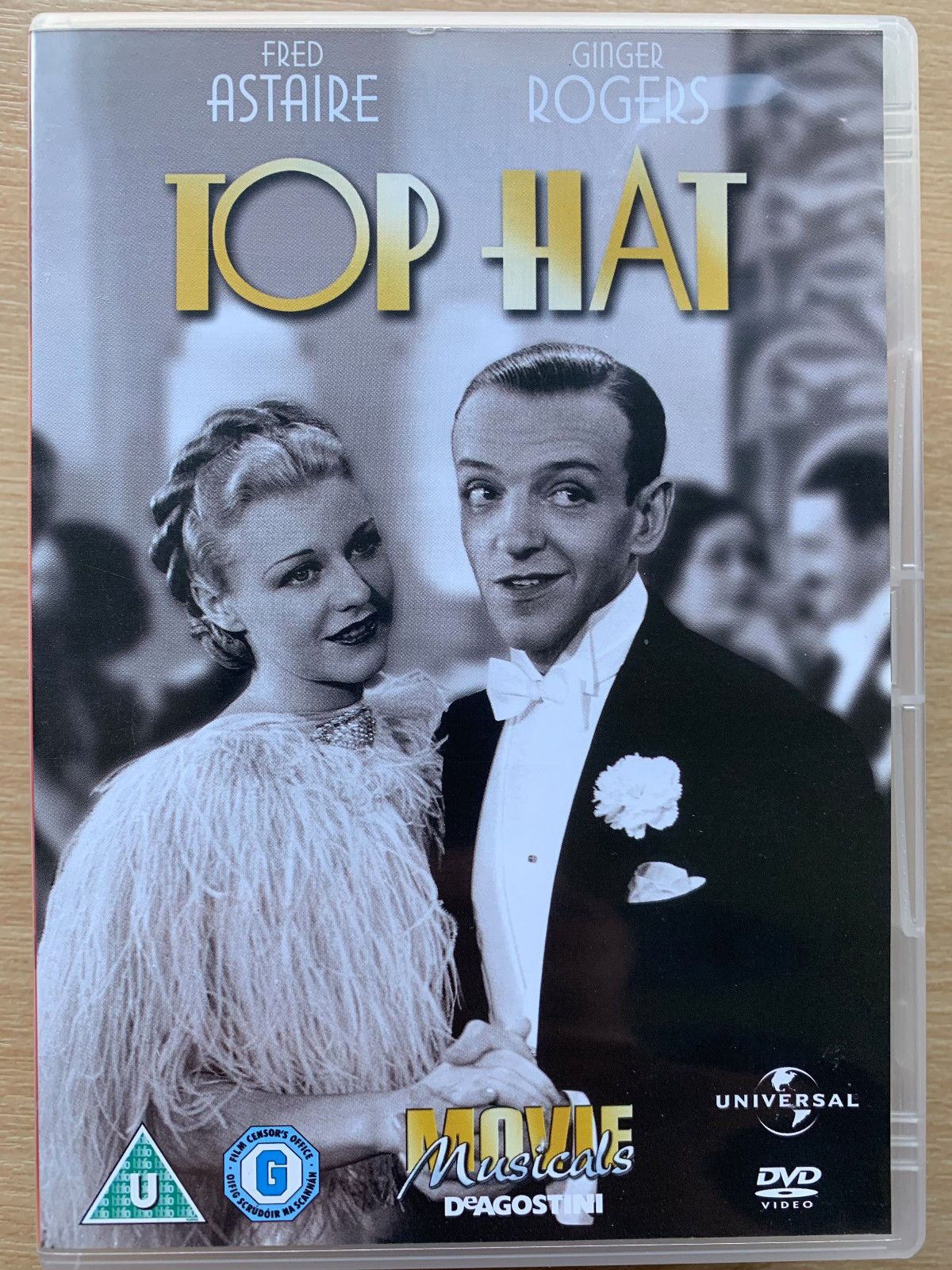 Fred Astaire Ginger Rogers Top Hat 1935 Hollywood Musical Classic Uk Dvd 12 50 This Is A Region 2 Dvd From The U Fred Astaire Ginger Rogers Fred And Ginger