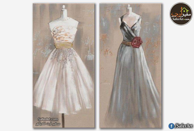 لوحات مودرن فساتين سفير ارت للديكور Dresses Fashion Formal Dresses