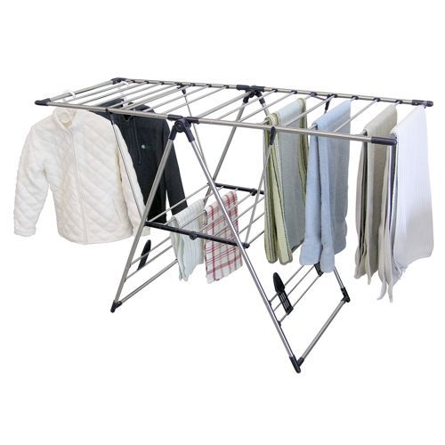 Clothes Drying Rack Costco Classy Greenway Home Products® Xlarge Stainless Steel Fold Away Laundry Review