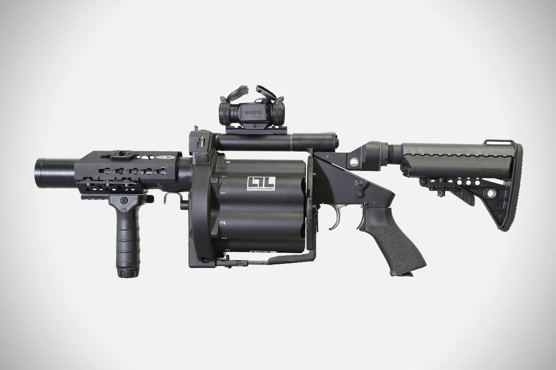 Milkor M32A1-MSGL Grenade Launcher