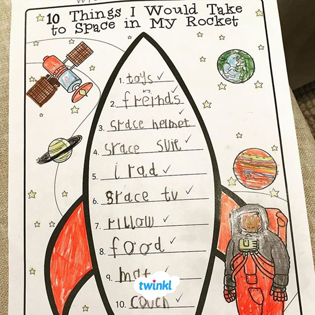 Celebrate World Space Week With Our Great Writing Frame
