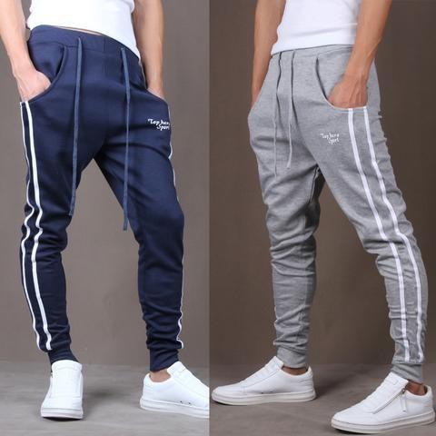 76f7d65a0 Hot Sale men's casual pants Slim Fit pants comfortable wild pants collapse men  fashion Sweatpants Joggers Trousers