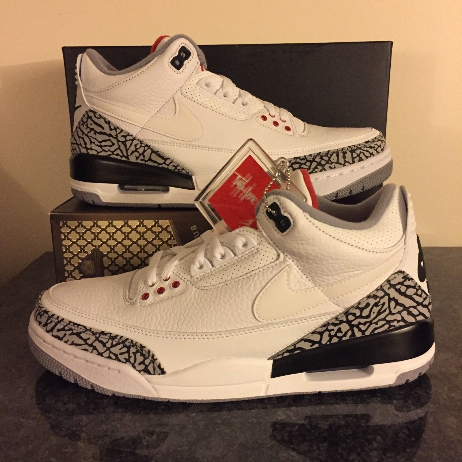 33a90ae783d1 100% Authentic Air Jordan 3 JTH Justin Timberlake Tinker Hatfield 88 Super  Bowl
