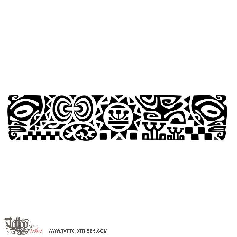 Bracelet Tattoo Maori Pinterest Tatuaje Maori Tatuajes And - Maori-tattoo-brazalete