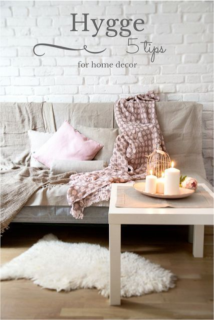 Hygge Style Living Room: 5 Tips For Hygge Home Decor