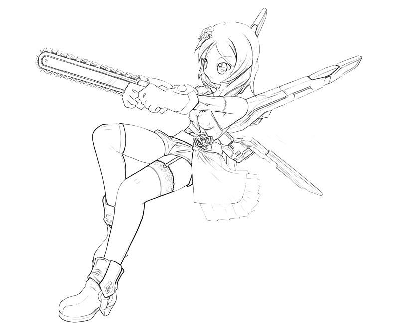 Tekken Alisa Bosconovitch Coloring Pages Alisa Coloring Pages