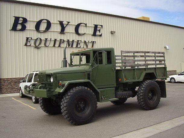 Boyce Equipment | M35A2 Bobbed Deuce | Bigg Riggs | Jeep