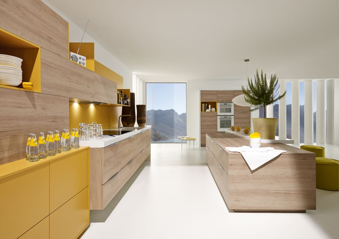 About alno modern kitchens on pinterest modern kitchen cabinets - Modern Technodesign Cuisine Alno Mod Le Alnoplan Sund Cuisine Design Ilot Central
