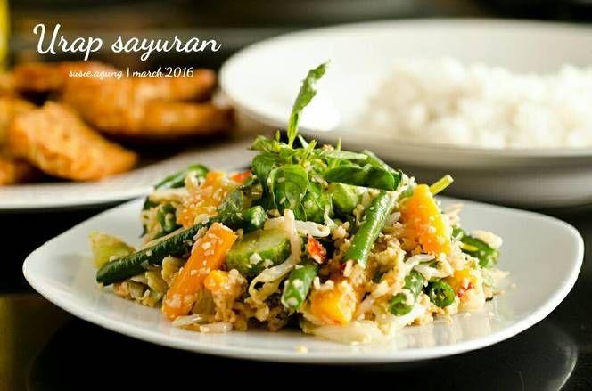 Resep Urap Sayuran Oleh Susi Agung Resep Sayuran Resep Makanan