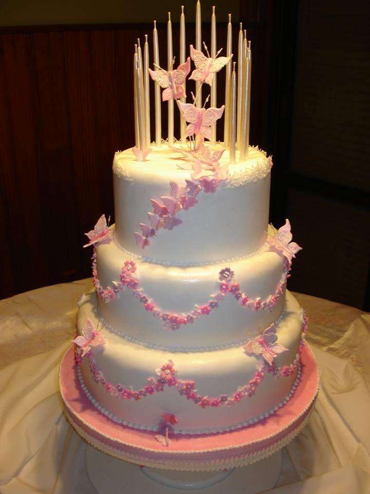 Torta Para 15 Años Reposteria En 2019 Tortas De 15