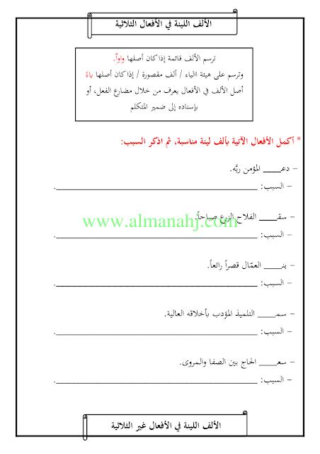 الصف الرابع لغة عربية الفصل الثاني القواعد الهامة التابعة لمنهاج الصف الرابع Math Chart Math Equations