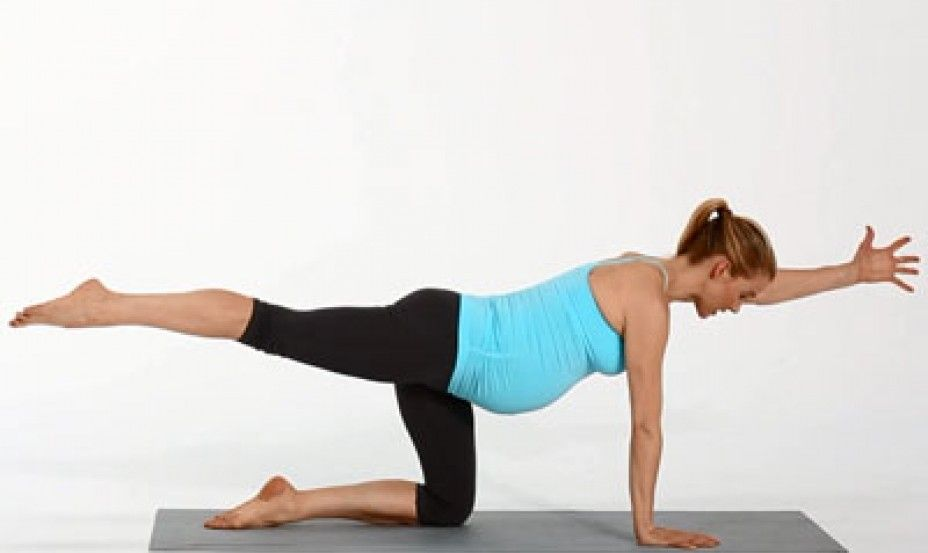 VIDEO: Alleviate back, shoulder & hip pain during pregnancy with ...