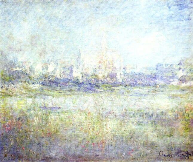 Claude Monet, vetheuil in the fog, 1879