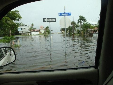 Punta Gorda, Florida was drenched by Tropical Storm Debby ...