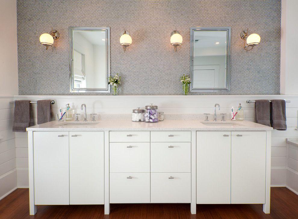 Superb Kohler Medicine Cabinets In Bathroom Transitional With Elegant  Bathroom Next To Penny Tile Alongside White