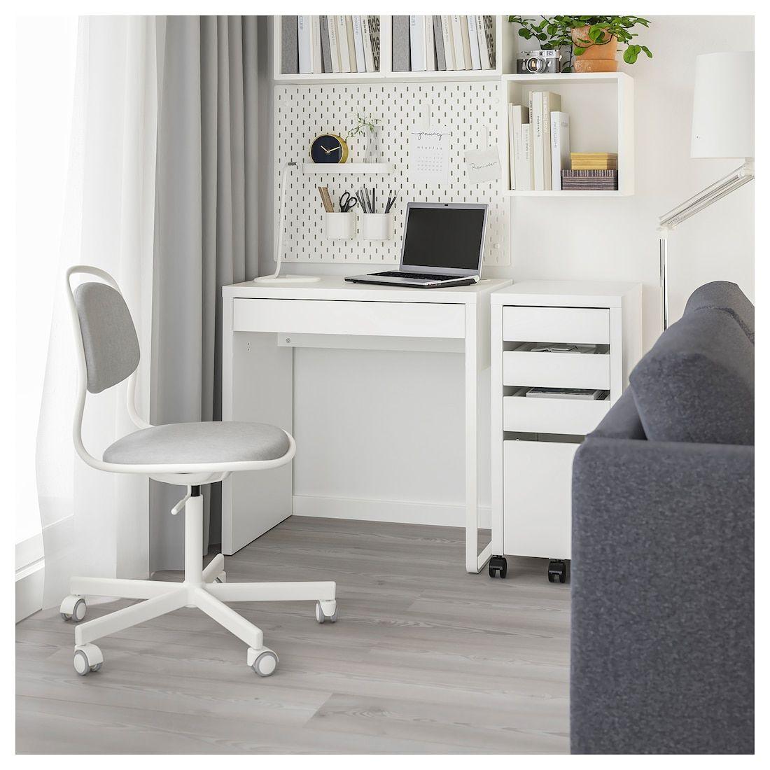 Micke Desk White 28 3 4x19 5 8 Ikea In 2020 Micke Desk Ikea Micke Ikea Micke Desk