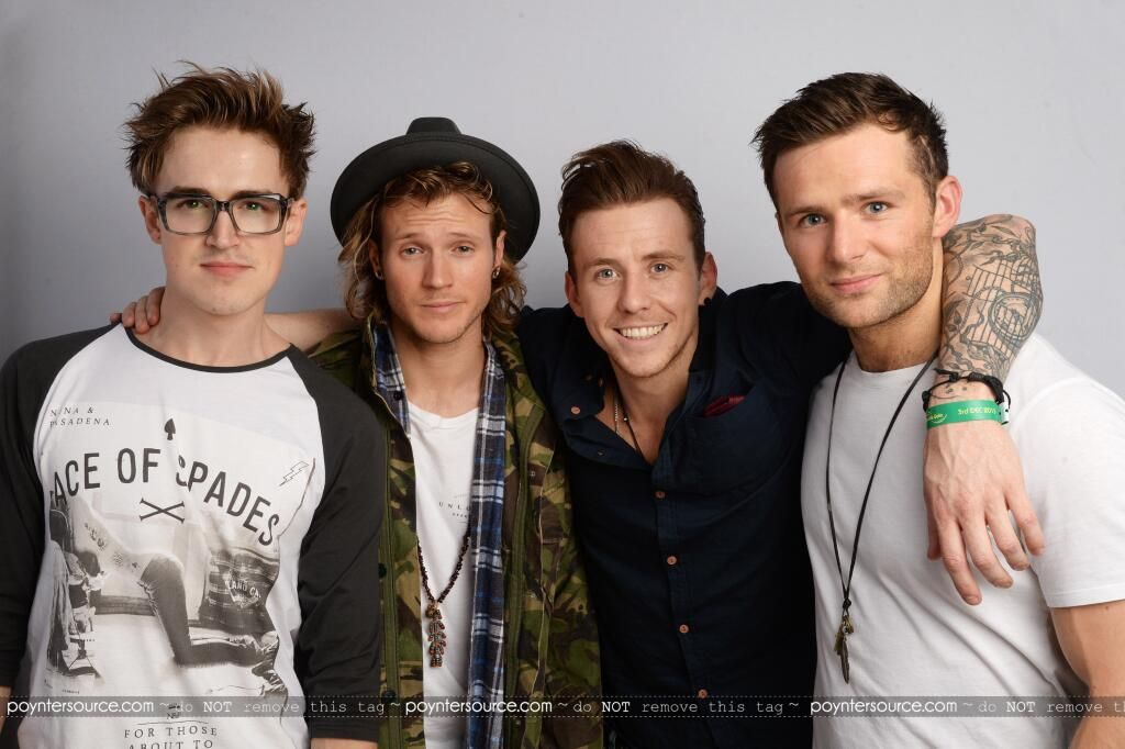 McFly at Magic FM Sparkle Gala yesterday
