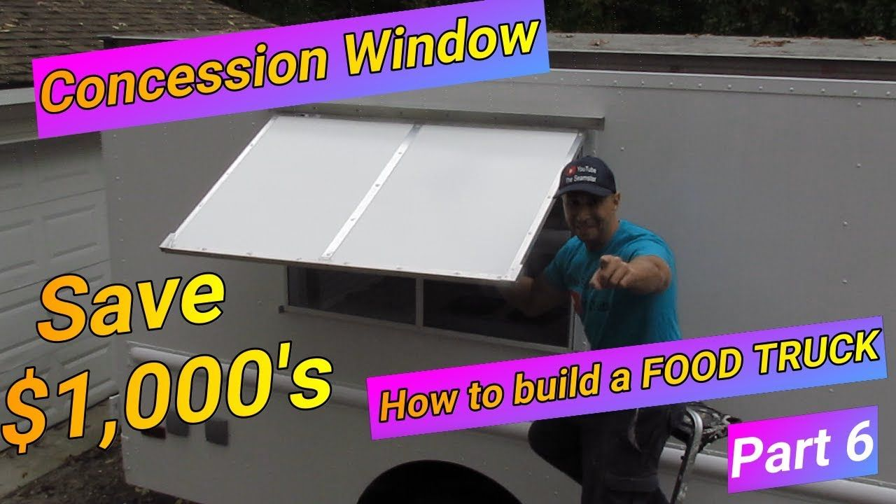 concession window for food truck