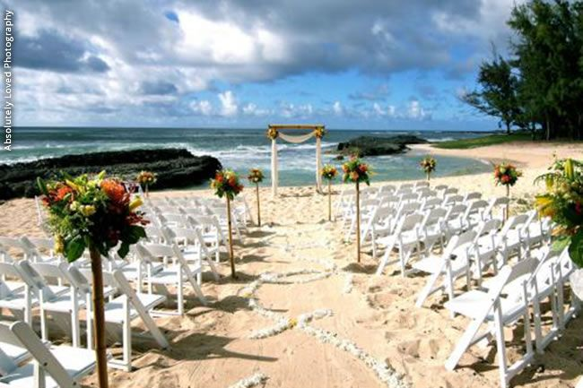 Say Aloha To Some Of Our Fave Hawaii Wedding Venues Turtle Bay Resort