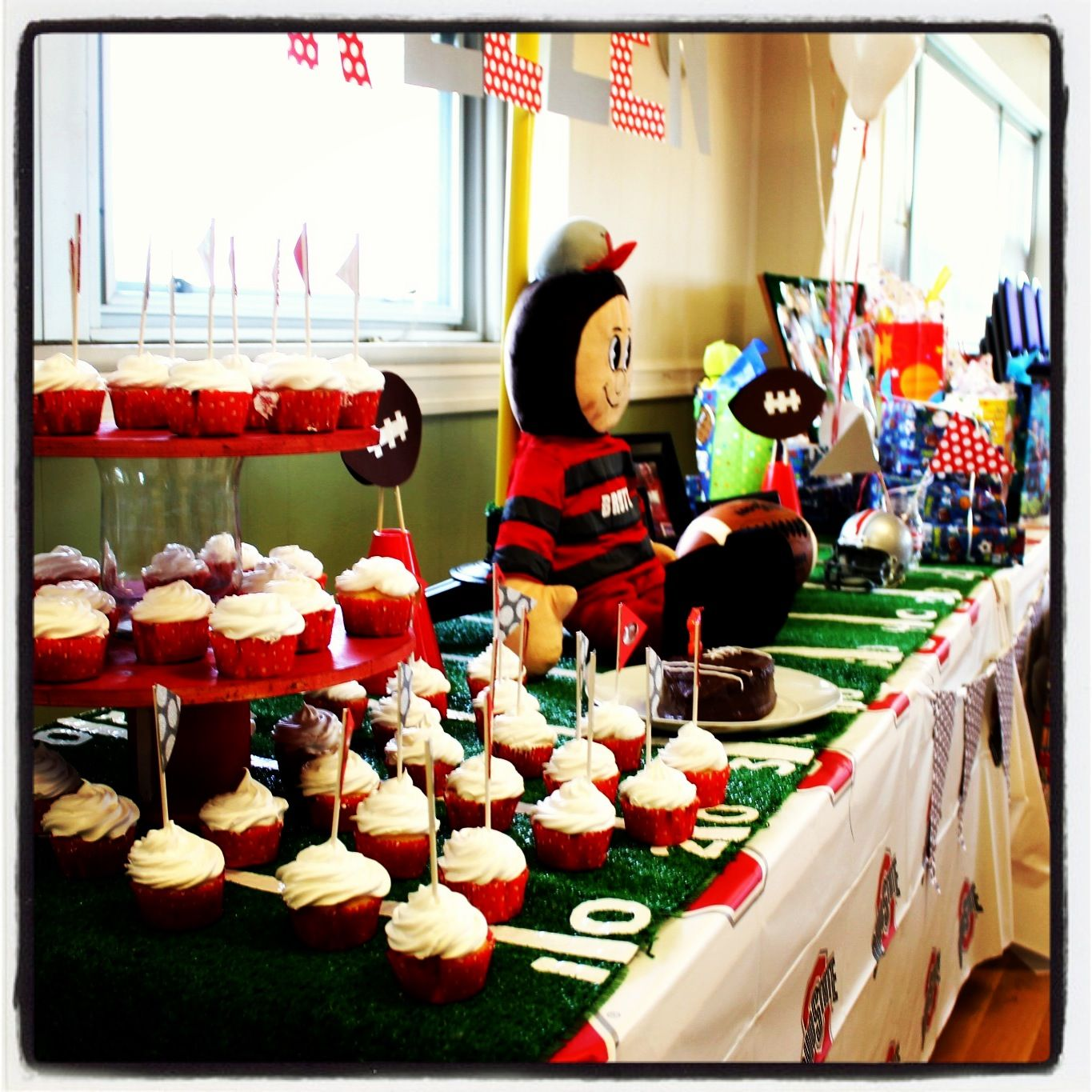 Ohio State Football Birthday Party