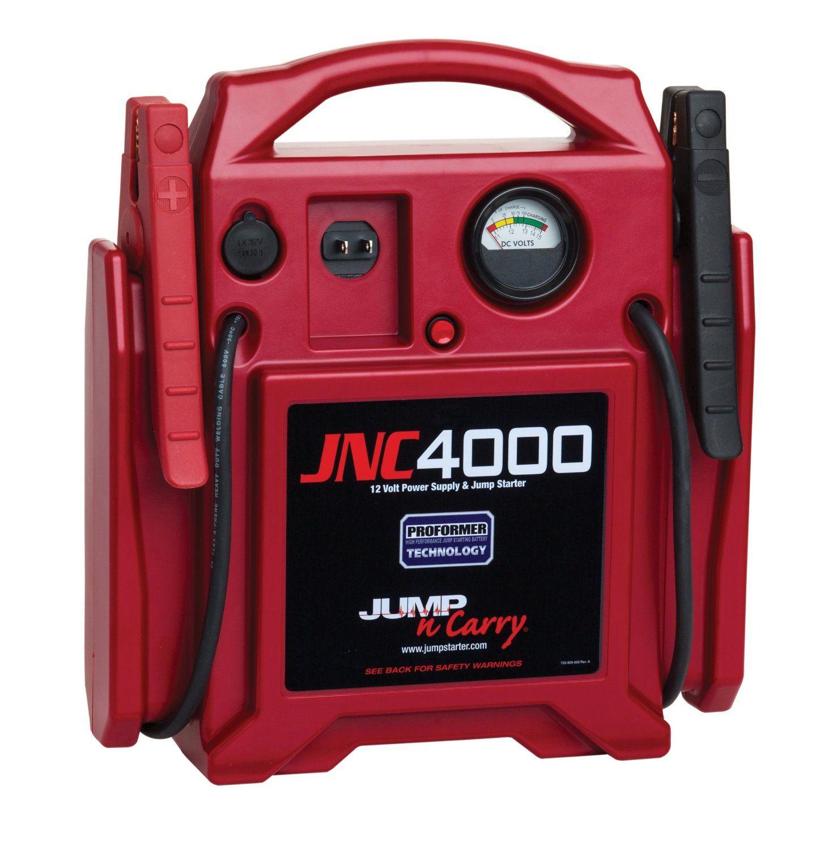 The Clore Automotive JNC4000 1100 Peak amp Jump Starter
