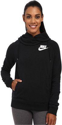 4bee9c83b3b2 Nike Rally Funnel Neck Hoodie  nike White Hooded Sweatshirt
