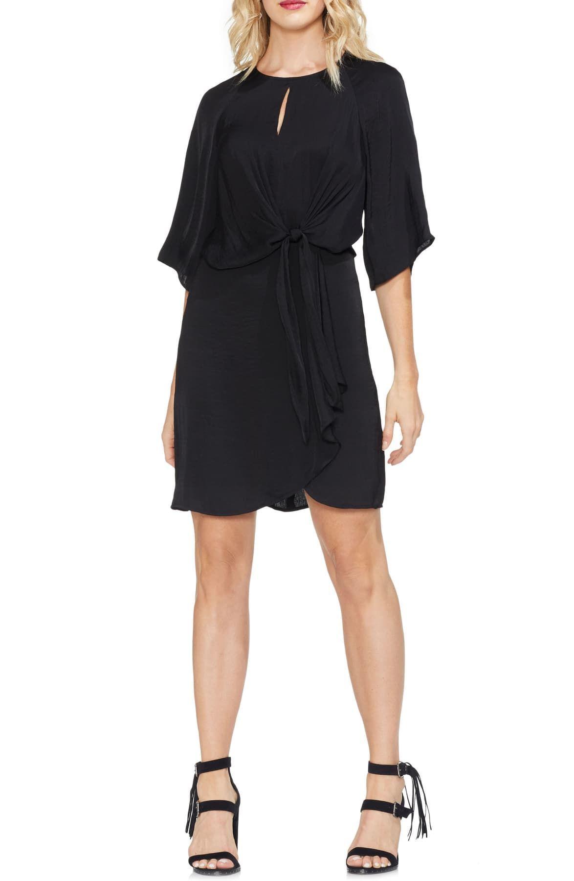 Vince Camuto Drape Sleeve Shift Dress Nordstrom Rack In 2020 Fashion Clothes Women Drape Sleeves Shift Dress [ 1800 x 1174 Pixel ]