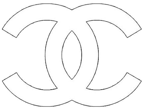 image regarding Printable Chanel Logo identify chanel printables - Google-Suche Crafts Decoração chanel