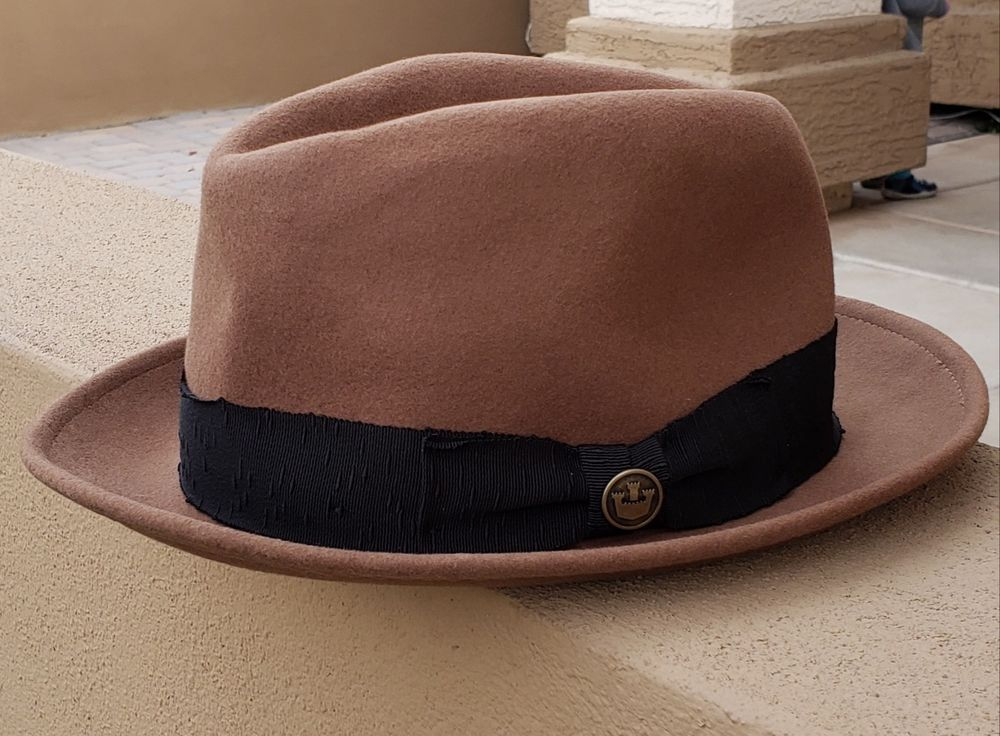 ebb12257595 Goorin Bros Men s Mr. Driver Woold Fedora Hat Brown Large  fashion  clothing   shoes  accessories  mensaccessories  hats (ebay link)