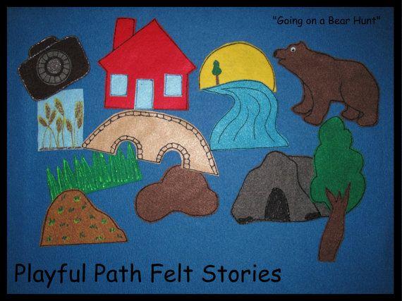 Going on a Bear Hunt Felt Story 2