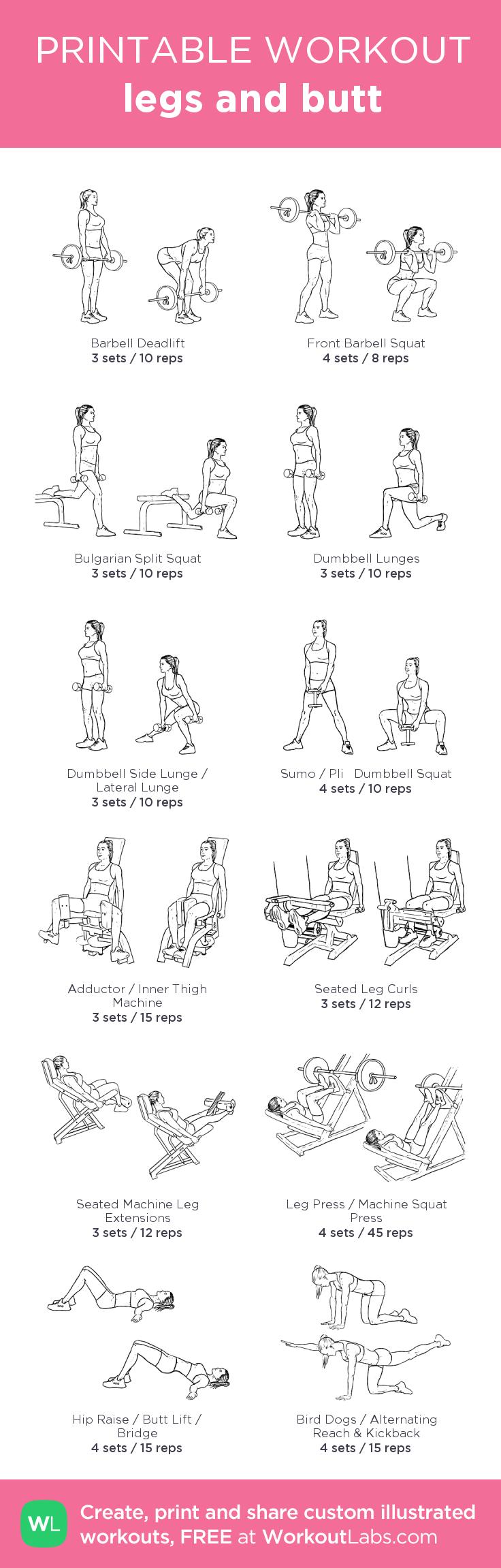 Those Women s butt workout