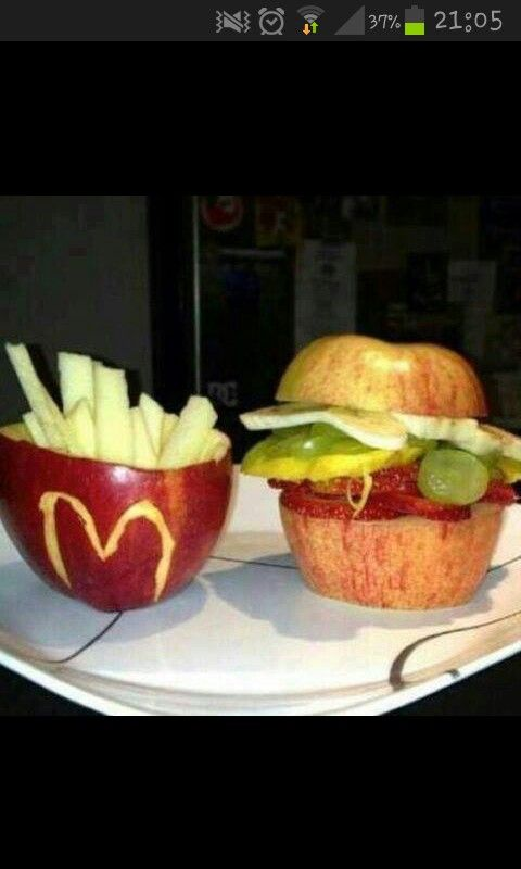 Healthy food from Apple. .. funny :D