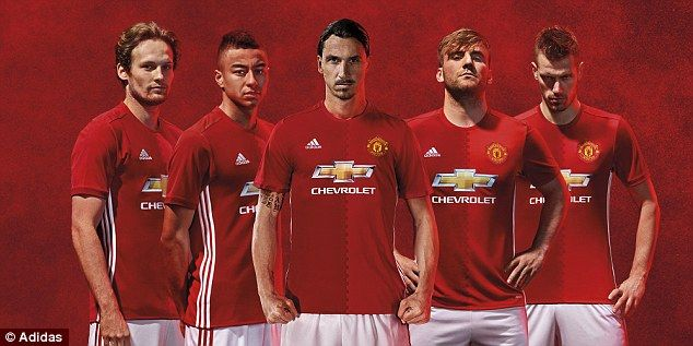 United Launch New Adidas Home Kit With 'two Halves' Ahead