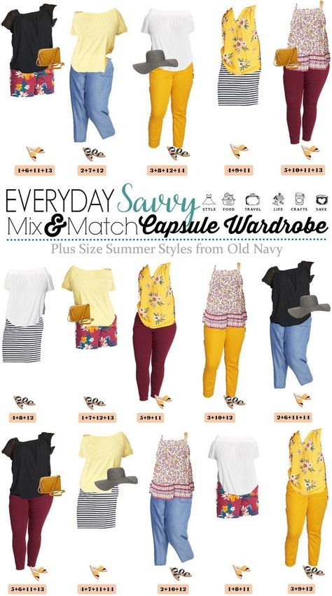 Cute Plus Size Summer Outfits from Old Navy – Capsule Wardrobe